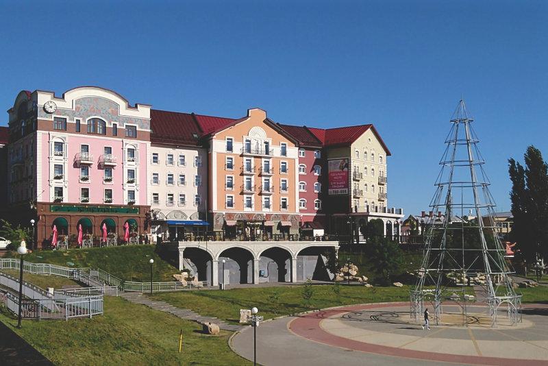 Hotel 'Old Town & SPA' on Lybedsky Boulevard in Ryazan