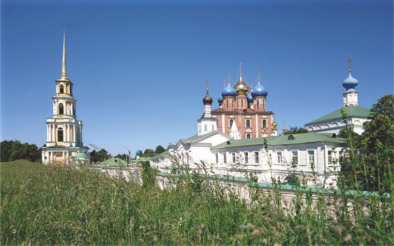 View of the Ryazan Kremlin from the rampart