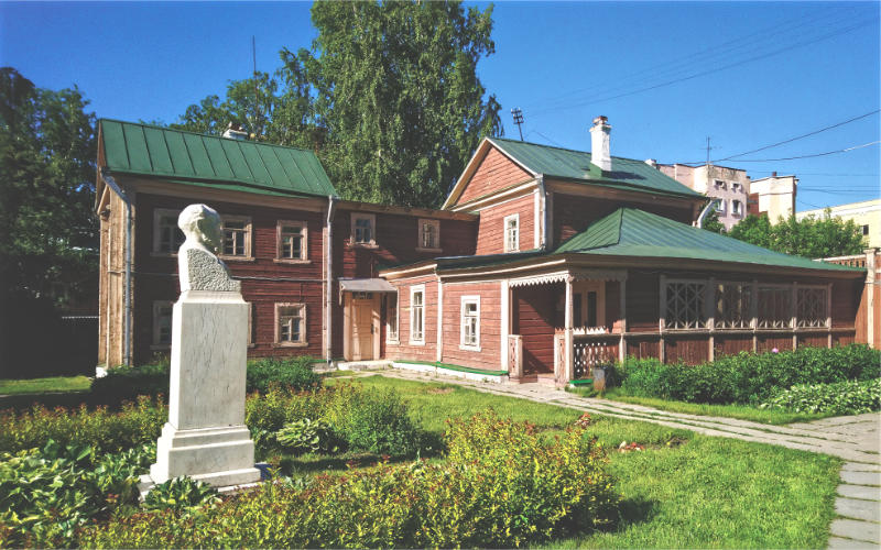 Museum of academician Ivan Palov is the estate where Pavlov spent his childhood