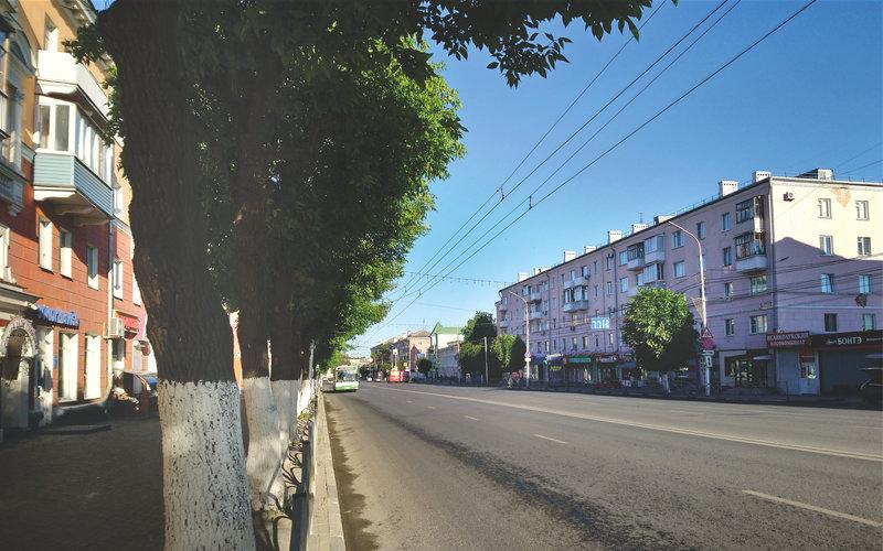 Pervomaysky Prospect in Ryazan