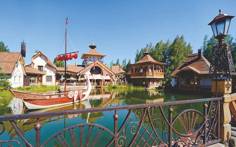 Russian-style hotel 'V Nekotorom Tsarstve' in Ryazan, Russia