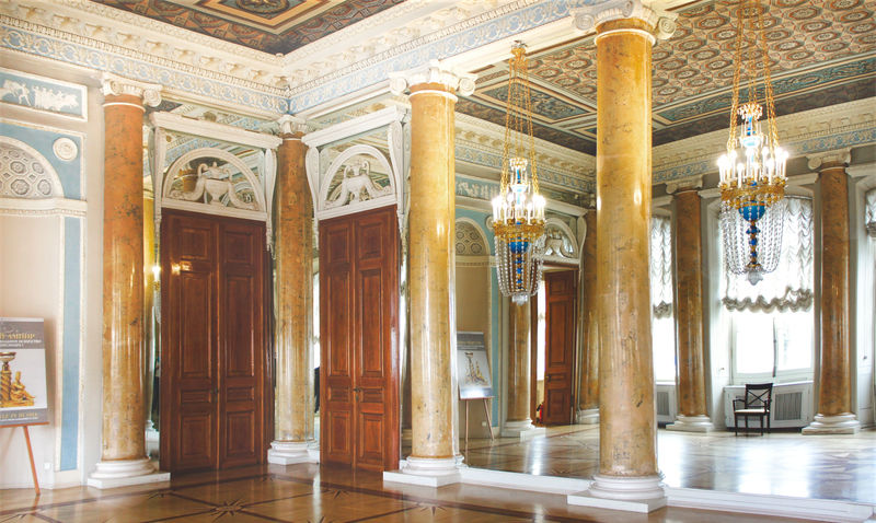 Gala Dining Room in the Stroganov Palace