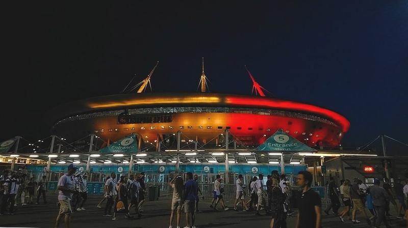 Saint Petersburg Stadium during EURO 2020