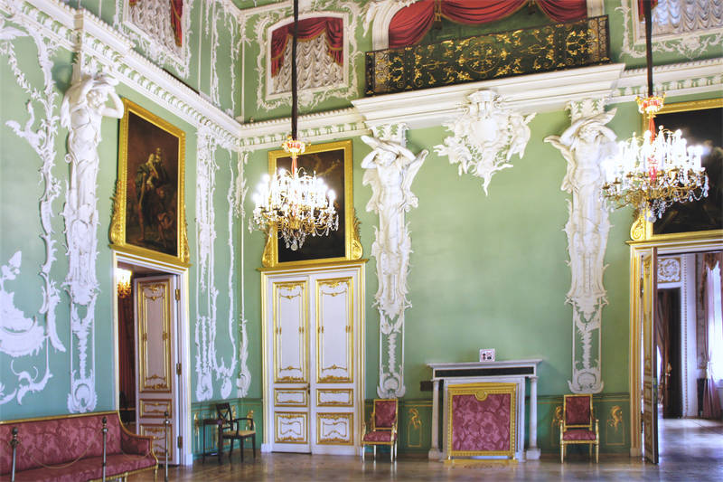 The Great Hall of the Stroganov Palace