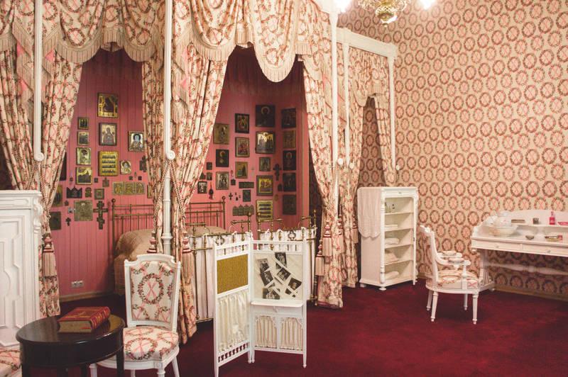 Bedroom of Nicholas II and Alexandra Feodorovna