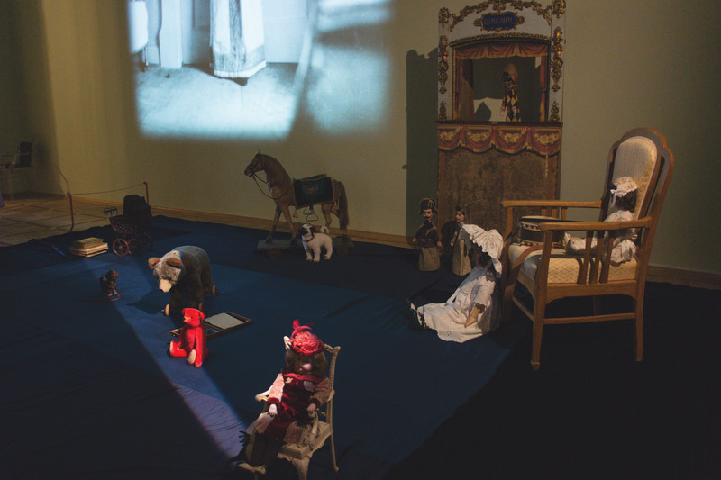 Children Rooms in Alexander Palace in Tsarskoe Selo