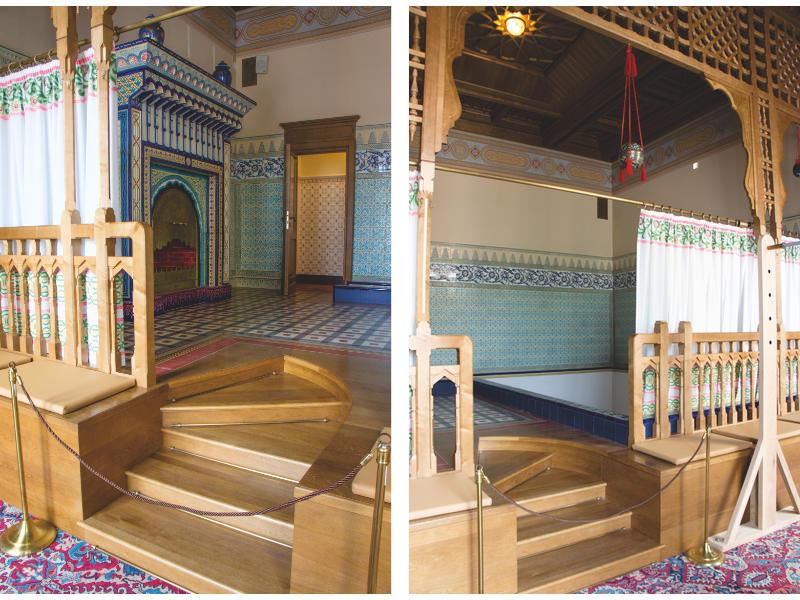 Moorish Restroom in Alexander Palace