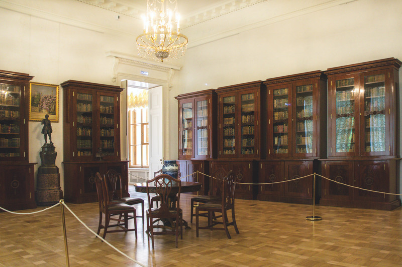 Libraries in Alexander Palace