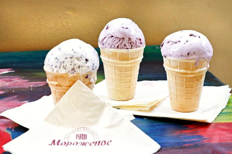Legendary GUM ice cream