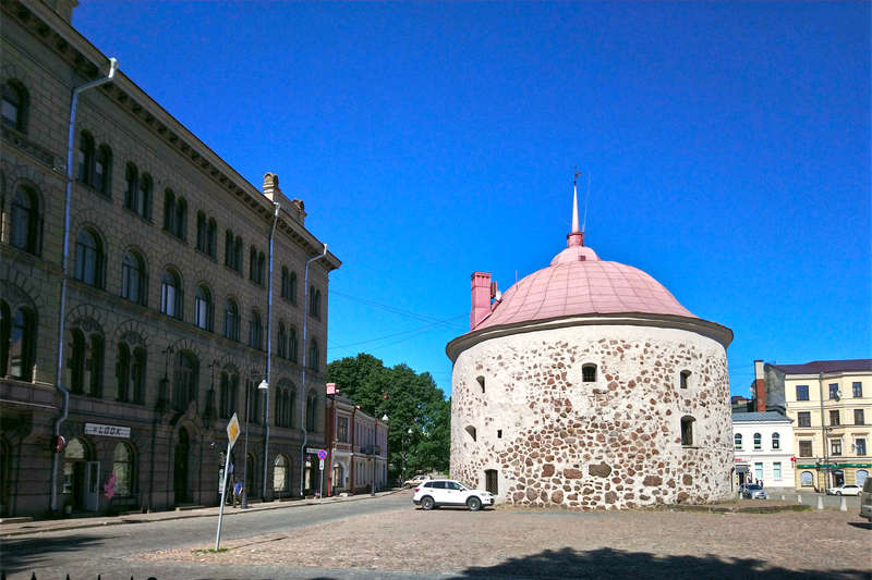 Round Tower in Vyborg