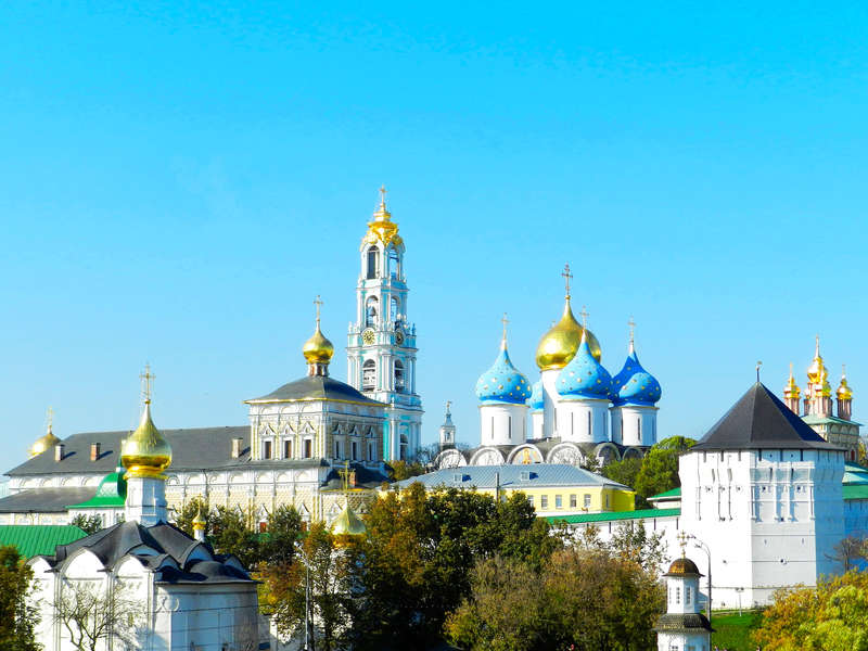 Sergiev Posad, one of the cities of the Golden Ring of Russia