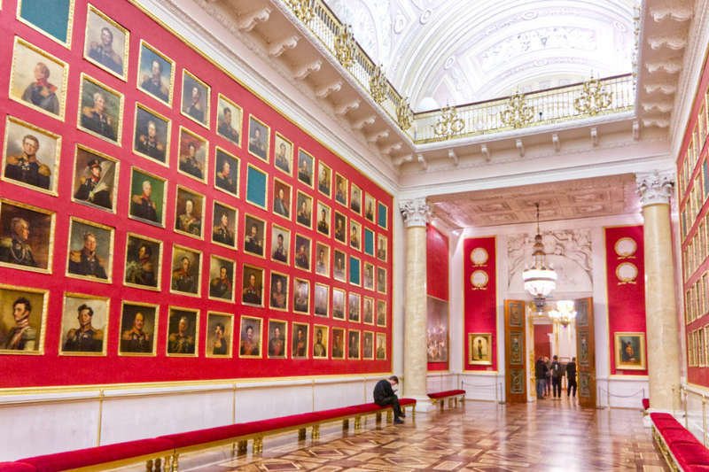The Hermitage is a must-see place in St Petersburg, Russia